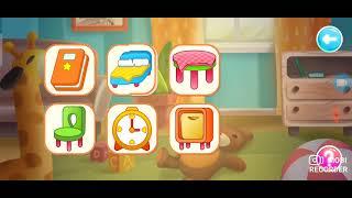 Обучающая игра мультик для малышей про дом Домашние предметы.