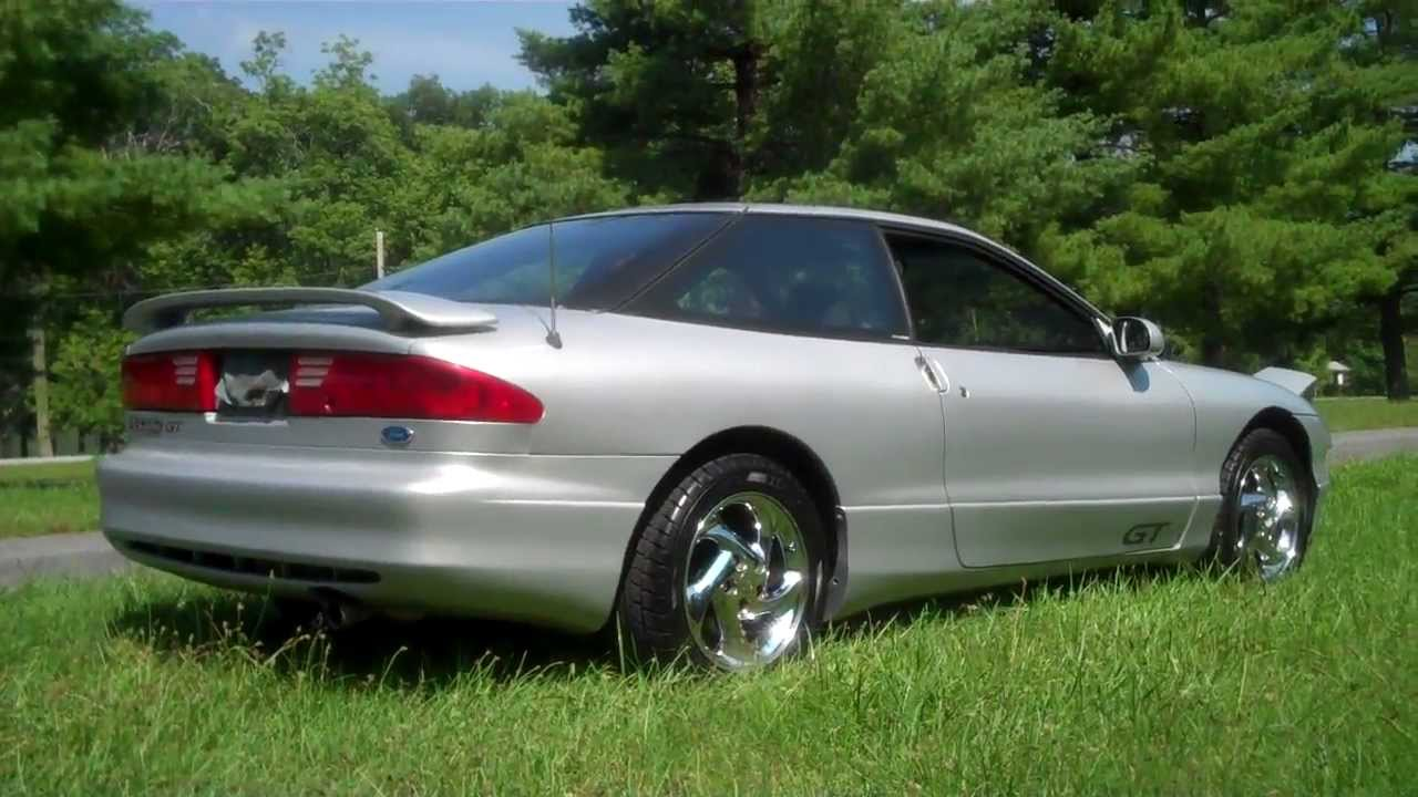 Tour of my mint 1993 ford probe gt
