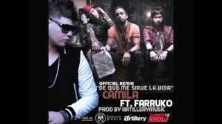 Camila Ft Farruko -- De Que Me Sirve La Vida (Official Remix)