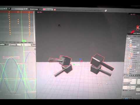 Robot chores 12: let's 3d model a servo control horn in blender.