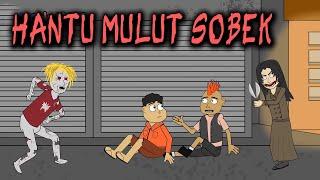 Ghost Mund Zerrissen in der Mall - Animierte-Horror-Comic-Lustig | Warganet Leben