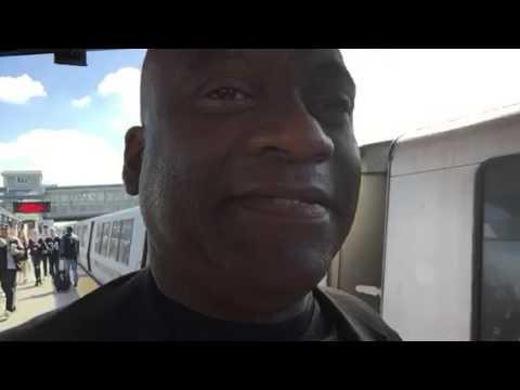 NY Jets At Oakland Raiders Exit Coliseum BART - Zennie62