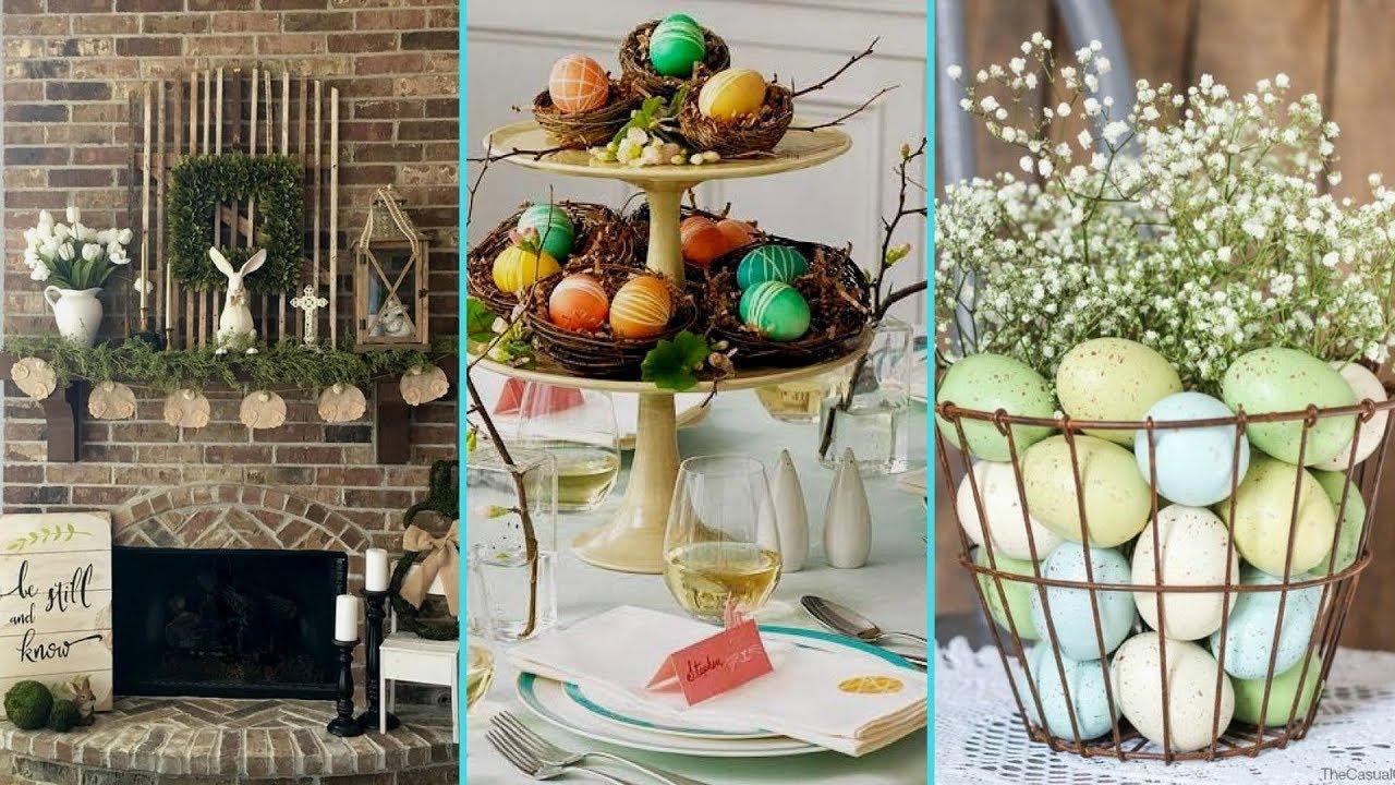 DIY Shabby Chic Style Easter Home Decor Ideas ❤| Easter Home Decor |  Flamingo Mango|