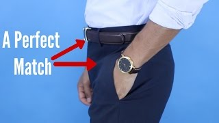 4 Rules to Choose The Right Belt