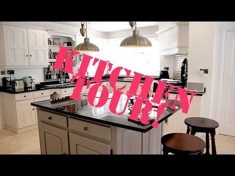 Home Tour Pt 3: New KITCHEN! | Fleur De Force - YouTube