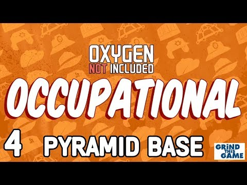 PYRAMID BASE #4 - Oxygen Not Included - Occupational Upgrade (JOBS, HATS & CONVEYOR RAILS)