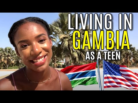 LIVING IN AFRICA AS AN AFRICAN AMERICAN TEENAGER | The Gambia | West African Wave