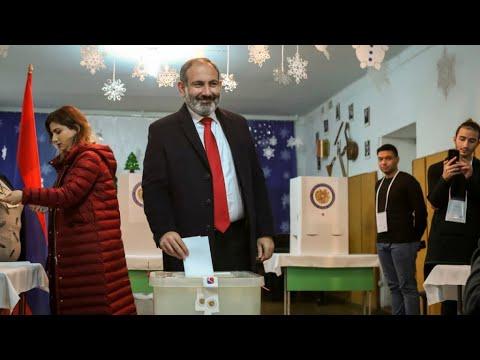 التحالف الانتخابي لرئيس وزراء أرمينيا يحقق فوزا ساحقا في الانتخابات المبكرة  - نشر قبل 4 ساعة