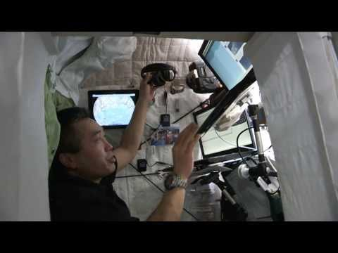 Crew Quarters Tour Inside the Space Station