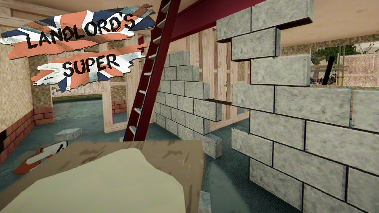 Stawiam ściany i wstawiam okna oraz drzwi- Landlord's Super #6