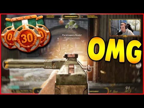 INSANE 53 KILLSTREAK VICIOUS MEDAL | Call of Duty: WW2