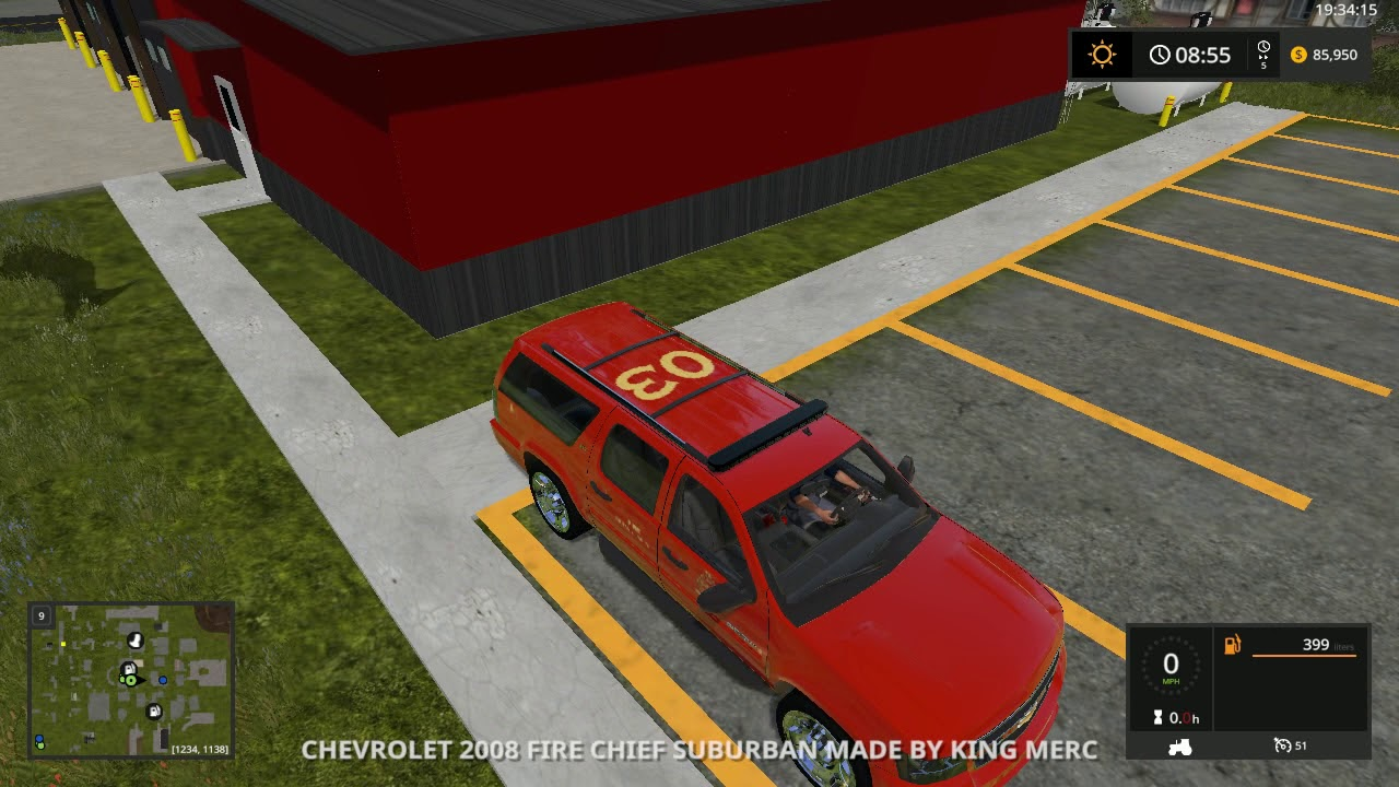 Farming Simulator 2017 Fire Department Responding Episode 2