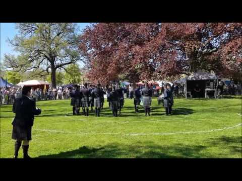 Owl Town Pipe & Drum Band - Grade 4 - Highland Gathering Peine 2016