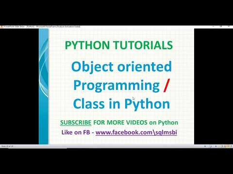 python tutorials | Classes in Python | python object oriented programming examples thumbnail