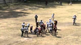 Sioux Veteranos vs Lagartos ITLLA 1er cuarto Octubre 28 2012.mpeg