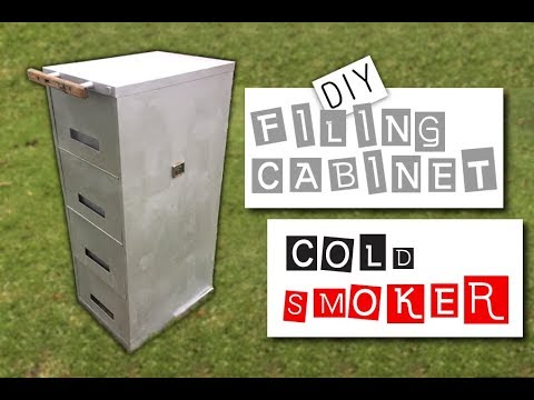 DIY Filing Cabinet Cold Smoker