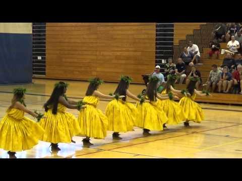 Punahou School Kahiko 2014 - Ke Welina (Malia Craver Hula Kahiko Competition)