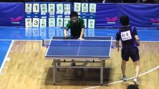 Tabletennis 専修大 vs 中央大 関東学生リーグ卓球 2013.5.14
