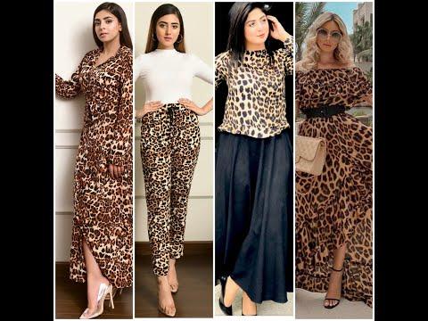 Stylish Animal Print Outfits 2020 Leopard Print Dress