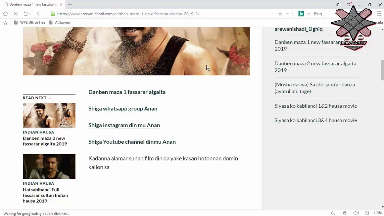 Download Yadda zakayi amfani Da Arewanishadi apps da website da gyara matsalar kallo a website din.