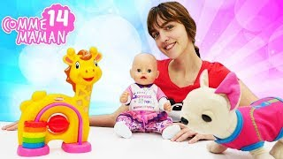 Vidéo en français pour enfants avec bébé born. Show Comme maman № 14: visite à la banque