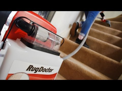 How To Clean Your Stairs With Rug Doctor Youtube