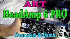 ART HeadAmp 6 PRO - Overview and Demo (Headphone Amp)