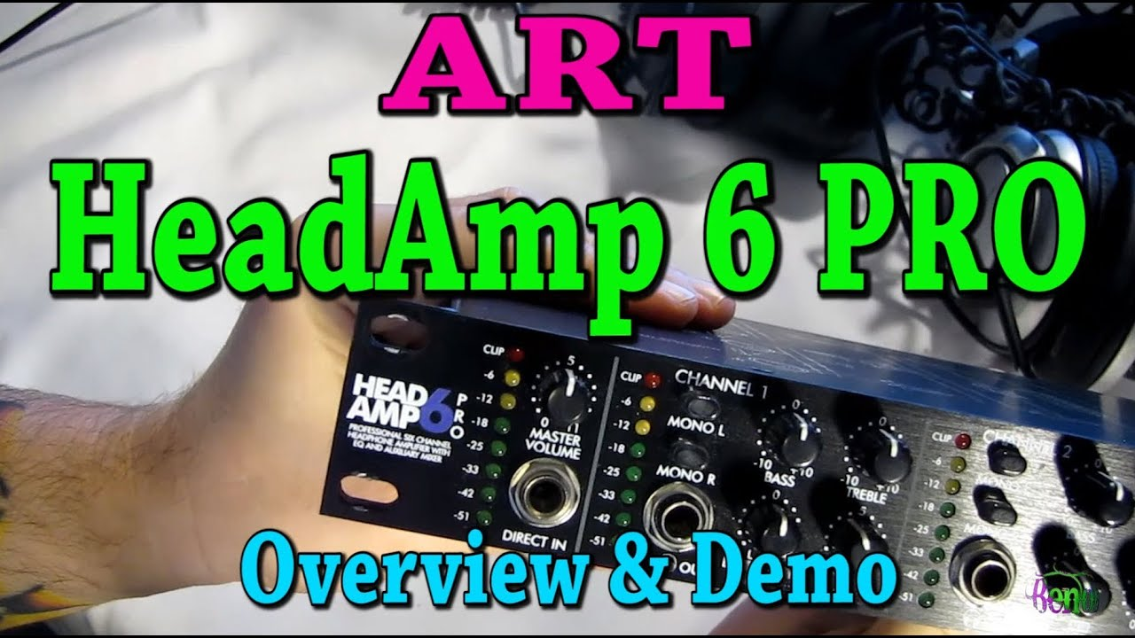 art headamp 6 pro overview and demo headphone amp youtube. Black Bedroom Furniture Sets. Home Design Ideas