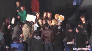 [Fancam] SNSD :: 101209 25th GDA 2010 - Ending - Stafaband