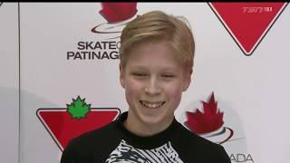 Stephen GOGOLEV Free Skate 2019 Canadian National Skating Championships