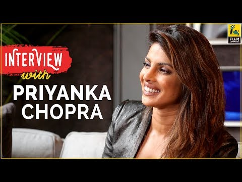 Priyanka Chopra  with Anupama Chopra  TIFF