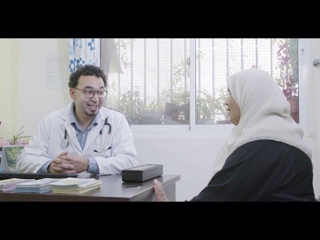 UNRWA - NCD App Behind the Scenes