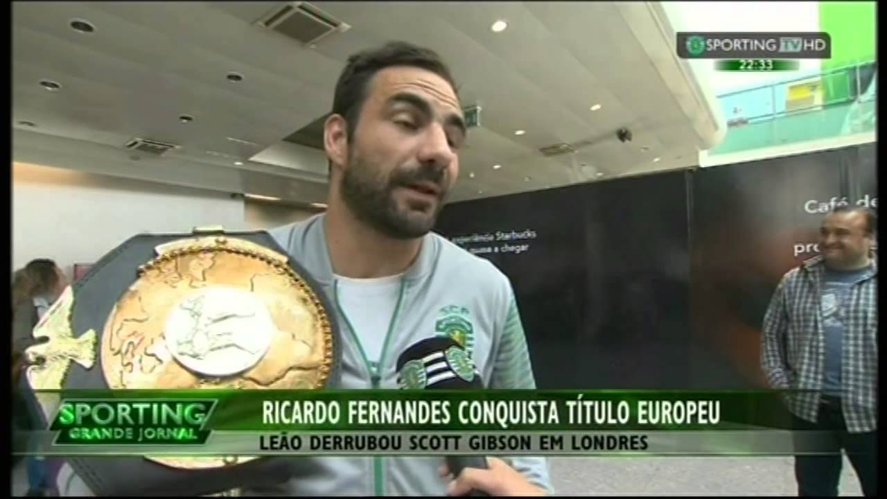 KickBoxing :: Ricardo Fernandes conquista título Europeu derrotando Scott Gibson em Londres