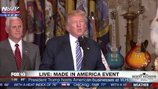 FULL EVENT: President Trump Hosts Made In America (FNN)