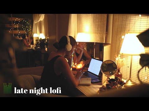 late night lofi ♫ a music mix for productivity
