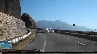 Beautiful Chandigarh Shimla Highway | Himalayan Expressway - Chandigarh to Shimla Road