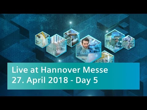 Hannover Messe – Open Space Stage Program – Friday, April 27, 2018