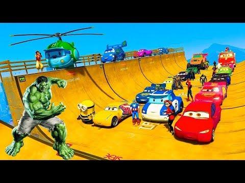 Мультики про машинки - Гонки! Игровой мультфильм для детей #мультик игра.