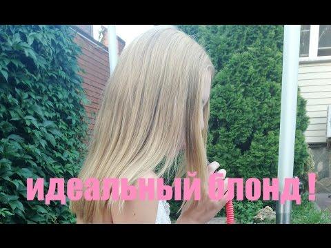 Тонирование волос / Долой ЖЕЛТИЗНУ! БЛОНД без желтизны!