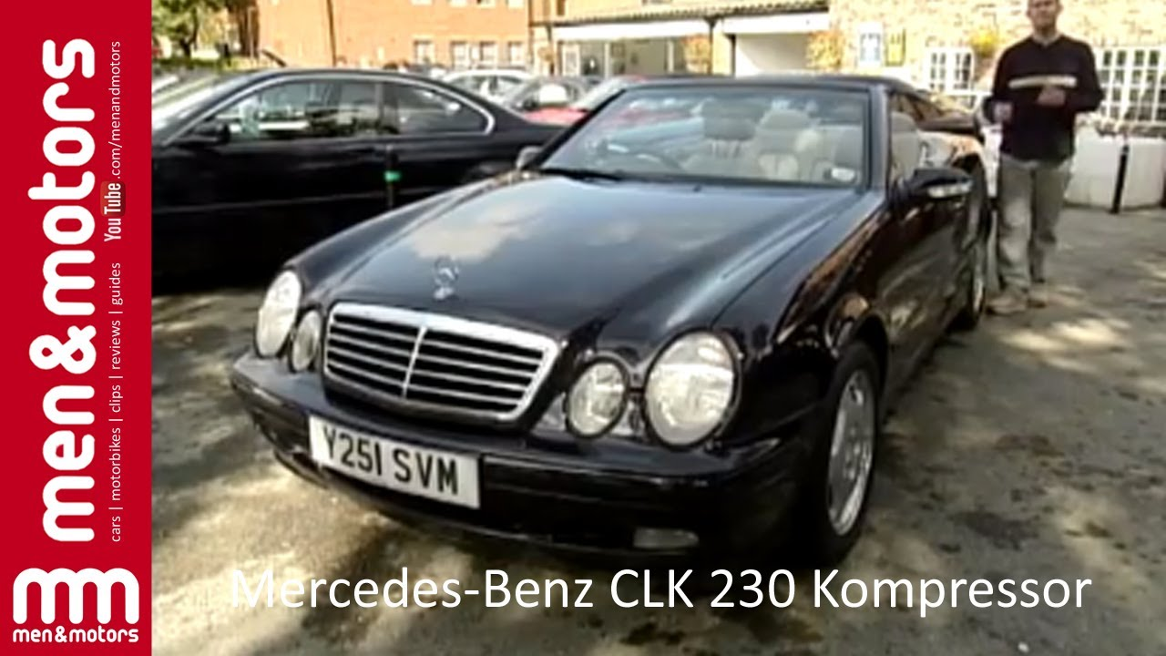 1998 mercedes benz clk 230 kompressor overview youtube. Black Bedroom Furniture Sets. Home Design Ideas