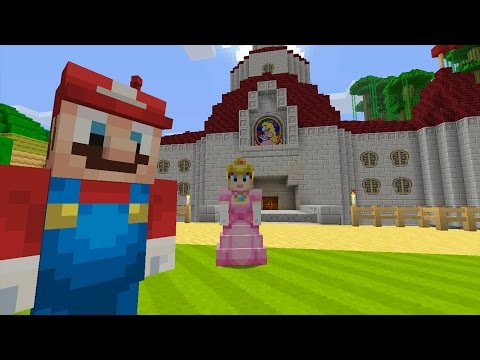 Minecraft Wii U - Super Mario Series - Bowser Attacks [1]