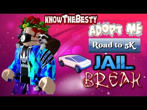 ROBLOX LIVE STREAM | JAILBREAK | ROAD TO 5K