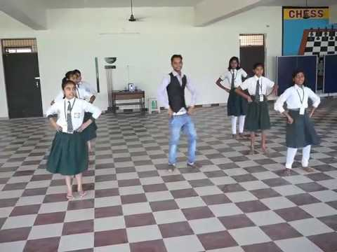 MICHAEL SIR ( JAY )_ Dance  in AMAN  INTERNATIONAL  SCHOOL , Mainpuri