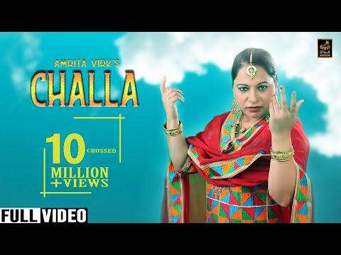Challa | Amrita Virk | Full Video | New Punjabi Song 2019 | Stair Records