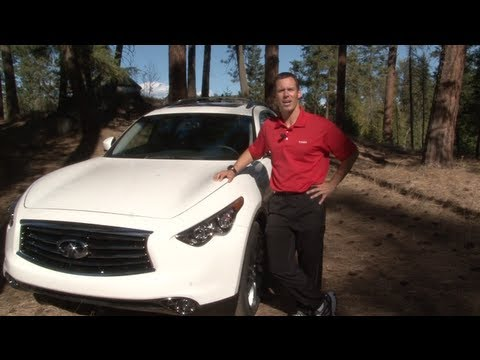 2013 Infiniti FX37 Drive & Review: New 3.7L engine revealed