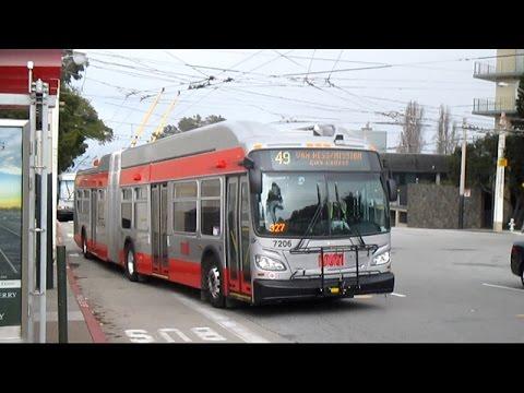 San Francisco MUNI 2015 New Flyer XT60 - 7206
