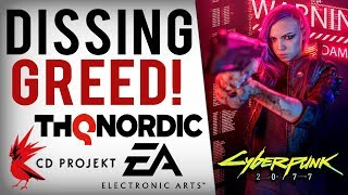CD Projekt Red Boss SHAMES EA, Bethesda & Activision Greed! More AAA Game Devs Fight Loot Boxes