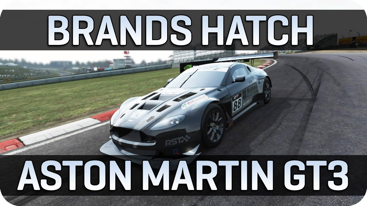 project cars | brands hatch gp - aston martin v12 vantage gt3