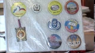 Свыше тысячи значков о Пушкинском районе: коллекционер Сергей Захаров(, 2017-02-03T19:22:31.000Z)