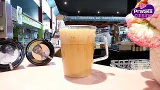 Les techniques de Barista - Comment faire un latte